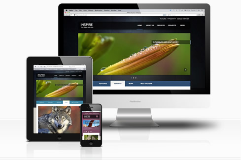 Inspire our new Joomla 3 Template Joomlabamboo Blog